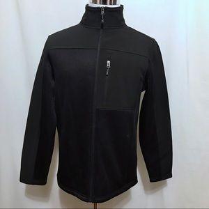 Swiss Tech NWOT Black Fleece Jacket Men M